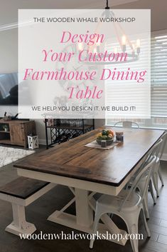 47 Best Wooden Whale Workshop Farmhouse Tables In Beautiful Homes