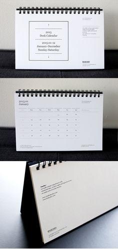 텐바이텐 10X10 : Desk Calendar_2015