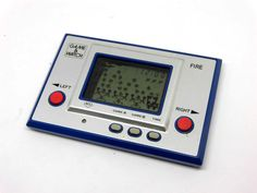 Nintendo Game & Watch Silver Series Fire RC-04 MIJ 1980 Good Conditiontion_46 #Nintendo