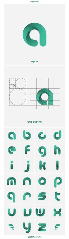alpha on Behance - logo, logo design, logotype, logomark, symbol, vector, graphic, digital art, logo inspiration
