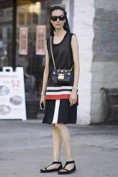 Pour Voir les Meilleurs Looks Street Style de la Fashion Week de New York, C'est Par Ici