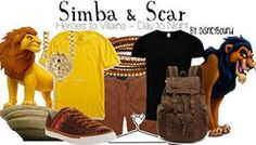 DisneyBound Simba and Scar Outfits