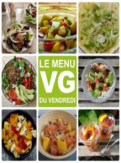 Le Menu VG du Vendredi : buffet de salades !