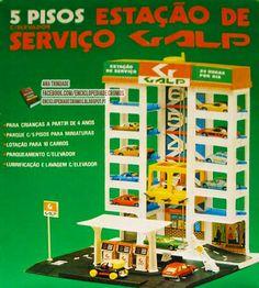 Estação de Serviço Galp - Mítico Brinquedo dos Anos 80