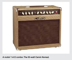 Tweaking A Carvin Nomad Combo