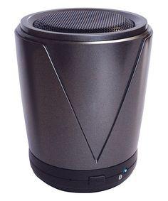 Gray Portable Mini Bluetooth Speaker