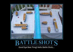If I drank this would be so much fun. So much better than beer pong - Battle Shots! Party Fiesta, Festa Party, Battle Shots, Baby Dekor, Ideias Diy, In Vino Veritas, Le Chef, Tipsy Bartender, Looks Cool