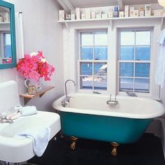 The Claw Foot Tub Is Never Wrong. ~ Mom and Her Drill