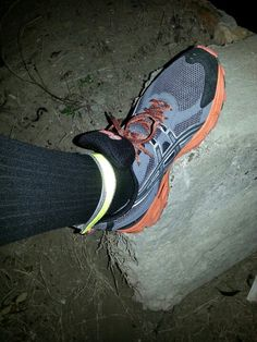 Safety first.  Use reflectors when running at night.