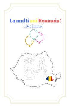 Here's Romania for kids by coloring! You will find all sorts of coloring pages suitable for kindergarten and elementary school kids. Preschool Writing, Kindergarten Activities, Coloring Pages For Kids, Kids Coloring, 1 Decembrie, Worksheets For Kids, After School, Spring Crafts, Small Groups