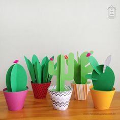 Cactus Craft House Plants - Cactus craft , kaktus handwerk , artisanat de cactus , artesanía de cactus , ca - Paper Cactus, Cactus Craft, Paper Plants, Kids Crafts, Home Crafts, Diy And Crafts, Arts And Crafts, Diy Y Manualidades, Llama Birthday
