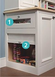 Pet Food Cabinetry