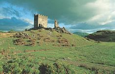 Dolwyddelan Castle, Conwy County, Wales - founded in early 13th c by Llywelyn the Great (44/45th gg?) N