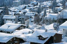Dorf mit Schneemütze: Adelboden führt ein Schattendasein. Wer im Berner...