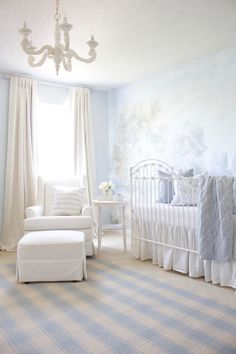 Clic Baby Boy Room In Soft Blue Nurseries Nursery