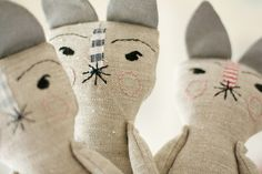 Otylie Creatures WIP by Lou Lou and Oscar, via Flickr