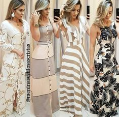 Pin by Katiuska on Vestidos in 2019 Casual Dress Outfits, Trendy Dresses, Nice Dresses, Fashion Dresses, Long Dresses, Dresses Dresses, Party Dresses, Indian Designer Wear, Mode Style