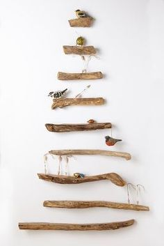 Driftwood Treeshelves- so pretty!! #AnthroFave
