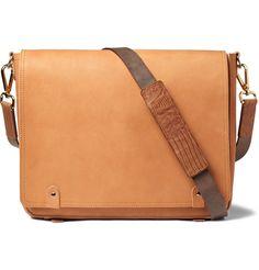 Maison Martin Margiela Replica Leather Messenger Bag