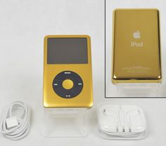 Apple iPod Classic 7th Generation GOLD / BLACK - Last Generation - (120 GB). Conversely, a hard disk drive uses a mechanical arm with a read/write head to move around and read information from the right location on a storage platter. | eBay!