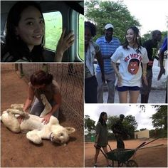 Yenny visits Africa in effort to protect the endangered wildlife from poaching crisis   http://www.allkpop.com/article/2014/03/yenny-visits-africa-in-effort-to-protect-the-endangered-wildlife-from-poaching-crisis