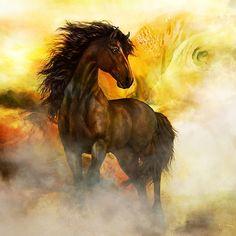 Chitto Black Spirit Horse
