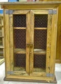 1000 images about muebles hechos con palets on pinterest - Armario para el bano ...