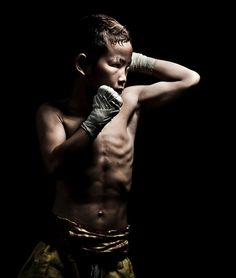 muay thai kid