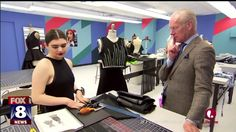 """WESTLAKE, Ohio -- Victoria Cohen is a 17-year-old senior at Westlake High School and a contestant on the first season of """"Project Runway Junior."""" Fox 8's Wayne Dawson learned how Victoria's sense o..."""
