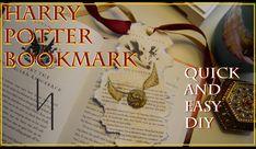 Harry Potter Bookmark : Quick & Easy DIY