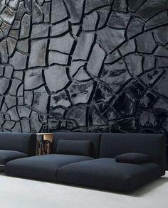 MOVE Modular #sofa by @paola_lenti  | #design Francesco Rota #black