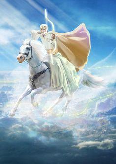 Dariu-s art — The Four Horsemen of the Apocalypse. Beast Of Revelation, Revelation Bible, Jesus Artwork, Life In Paradise, Pictures Of Jesus Christ, Horsemen Of The Apocalypse, Jesus Painting, Prophetic Art, Biblical Art