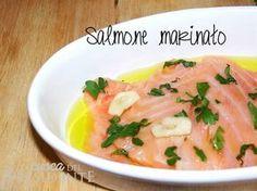 Salmone marinato buonissimo
