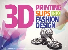 3D printing slips into fashion design