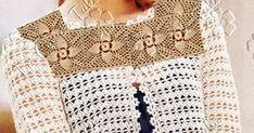 Os squares padrão, dão o toque diferenciado neste cardigan curtinho e alinhado…