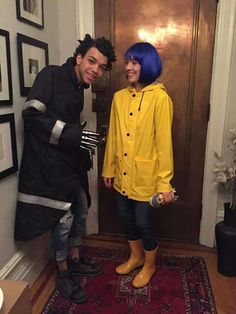 Coraline and Wybie