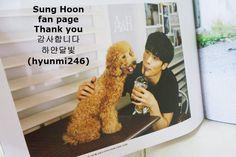 Sung Hoon Bang (성훈, 成勋)   #SungHoon #성훈 @bbangsh83  on 애니멀매거진 Animal Magazine VOL.30 11월 November 2014  Credit : as tagged, thank you 감사합니다 꼬마마녀 for sharing.  https://www.facebook.com/SungHoonBang.FanPage
