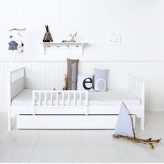 Ausziehbett kinderzimmer  Bed Rail Bedtime Child Safe Crib Secure Sleep Safeguard Stories ...