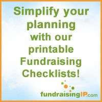 fundraiser checklists