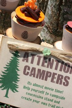 Camping Party Printables Set for your Happy by shindigparties, $29.00