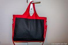 Le sac Foxtrot des mains en l'air coton et simili.