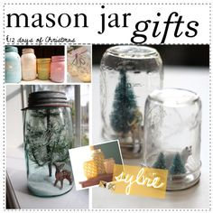 """Mason Jar Gifts"" by happylittlegreengirltips ❤ liked on Polyvore"