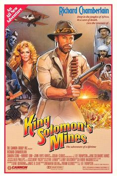 King Solomon's Mines (1985), one of the first Indiana Jones knock-offs.