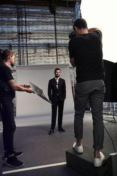 Jamie Dornan, stylin'.