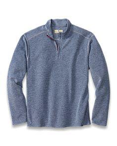 Double Identity Reversible Half-Zip Sweatshirt