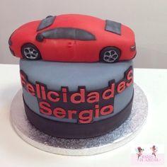 Tarta Audi 5 Hadas de Azúcar / Audi 5 fondant cake