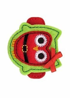 GG Designs Embroidery - Santa Owl FELT STITCHIES (in the hoop) (Powered by CubeCart)