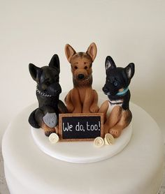 This would be my wedding cake topper in front of the bride and groom topper.