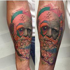 Rafael Makarov Dzikson tattoo