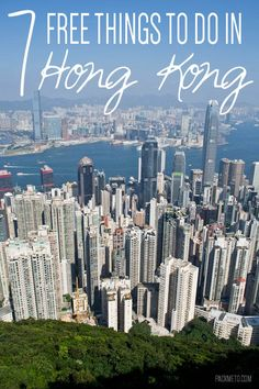 Often thought of as an expensive city, Hong Kong as much to offer for those looking for free activities. Here are 7 free things to do in Hong Kong. Places To Travel, Places To See, Travel Destinations, Holiday Destinations, Harbin, Macau, Hong Kong Travel Tips, Hongkong, China Travel